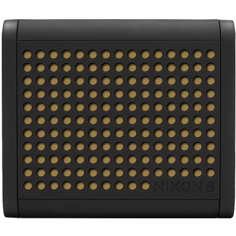 Nixon Mini Blaster Bluetooth Speaker | Black / Gold