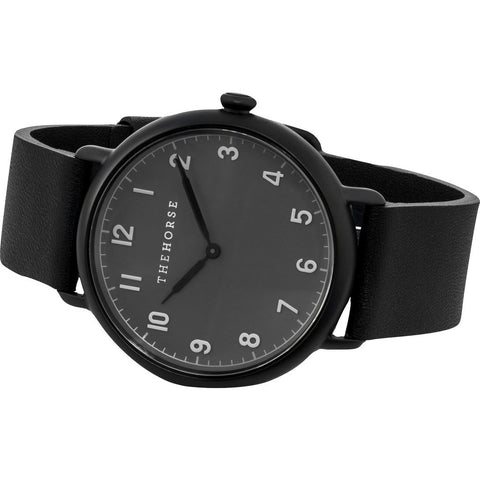 The Horse Heritage Matte Watch | Dark Grey/Black H6