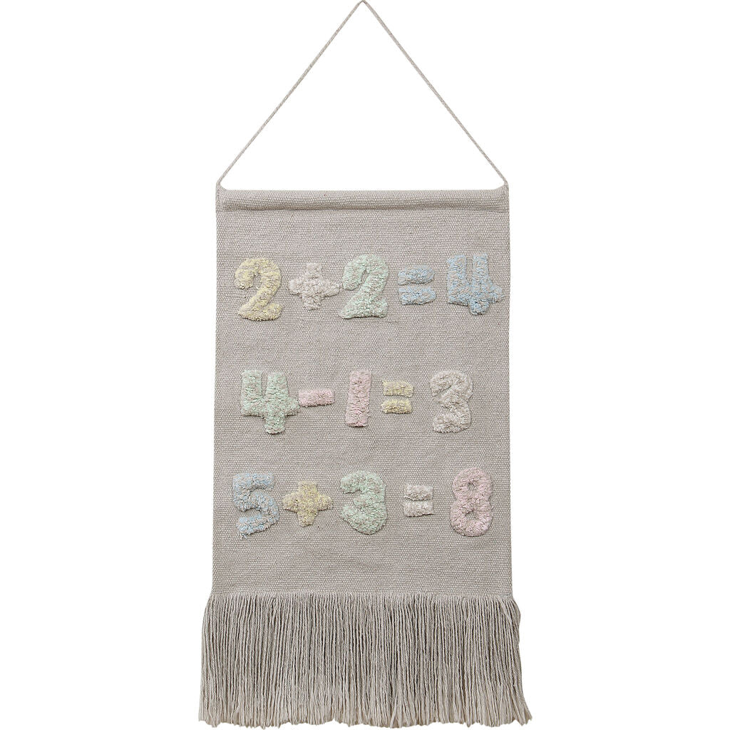 Lorena Canals Baby Numbers Wall Hanging