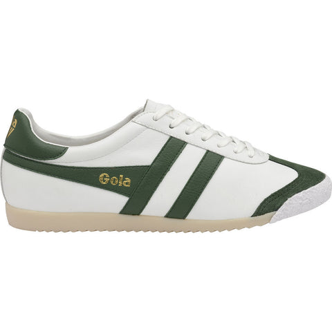 Gola Men's Harrier 50 Leather Sneakers | White/Green