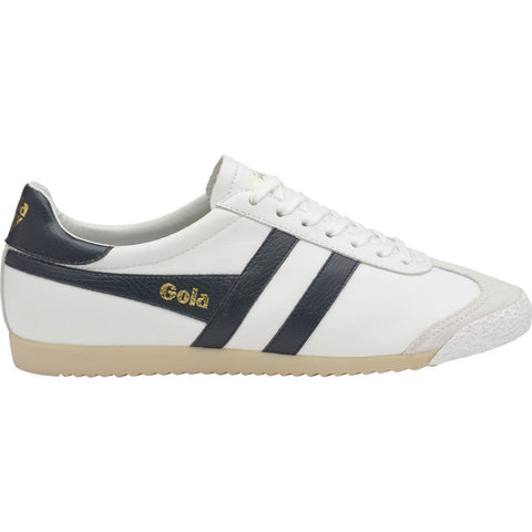 Gola Men's Harrier 50 Leather Sneakers | White/Navy
