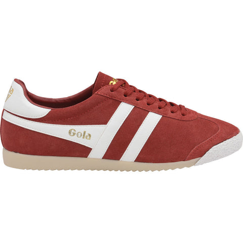 Gola Men's Harrier 50 Suede Sneakers | Red/White