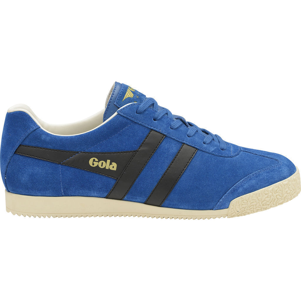 Gola Men's Harrier Suede Sneakers | Marine Blue/Black/Off White