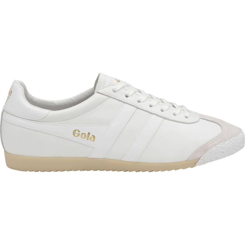 Gola Women's Harrier 50 Leather | White- CLA504WW903 05