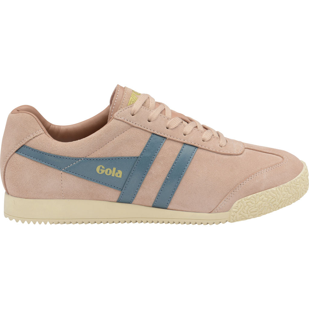 Gola Women's Harrier Suede | Blush Pink/Indian Teal- CLA192HD903 05
