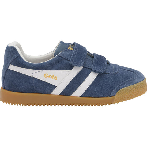 Gola Boy's Harrier Velcro | Baltic/White- CKA192EW909 10