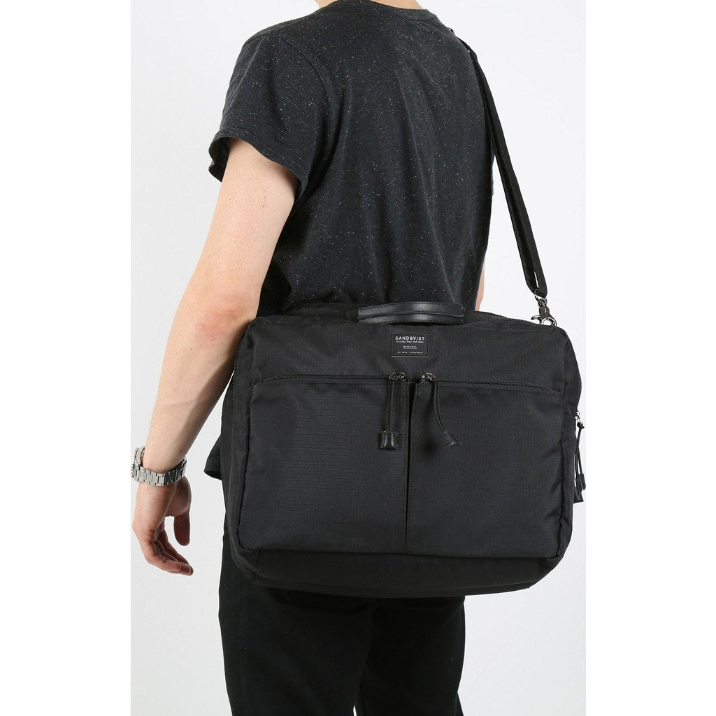 Sandqvist Henry 3-Way Briefcase | Black SQA548