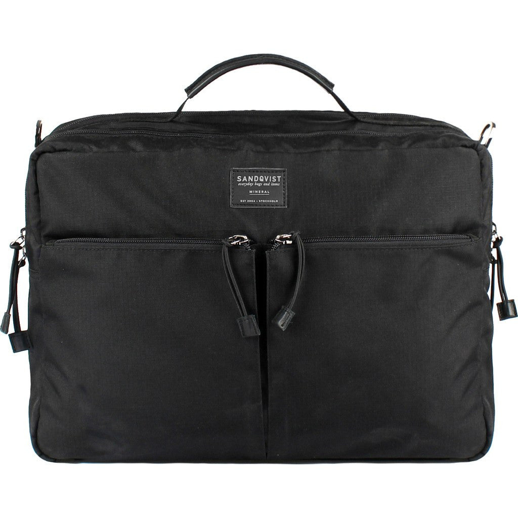 Sandqvist Henry 3-Way Briefcase | Black