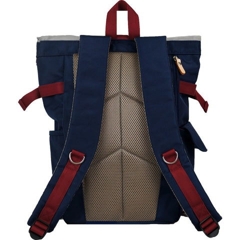 Harvest Label Rolltop Backpack 2.0 | Red HFC-9004-RD