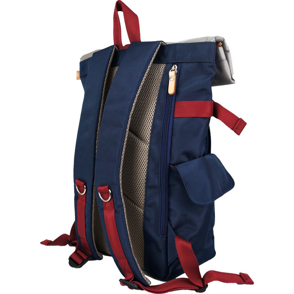 Harvest Label Rolltop Backpack 2.0 | Navy HFC-9004-NVY