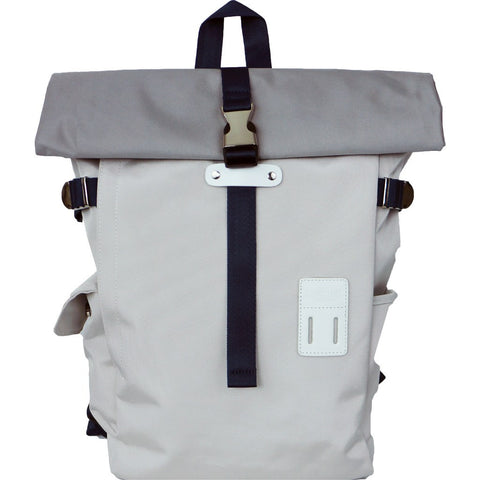 Harvest Label Rolltop Backpack 2.0 | White HFC-9004-WH