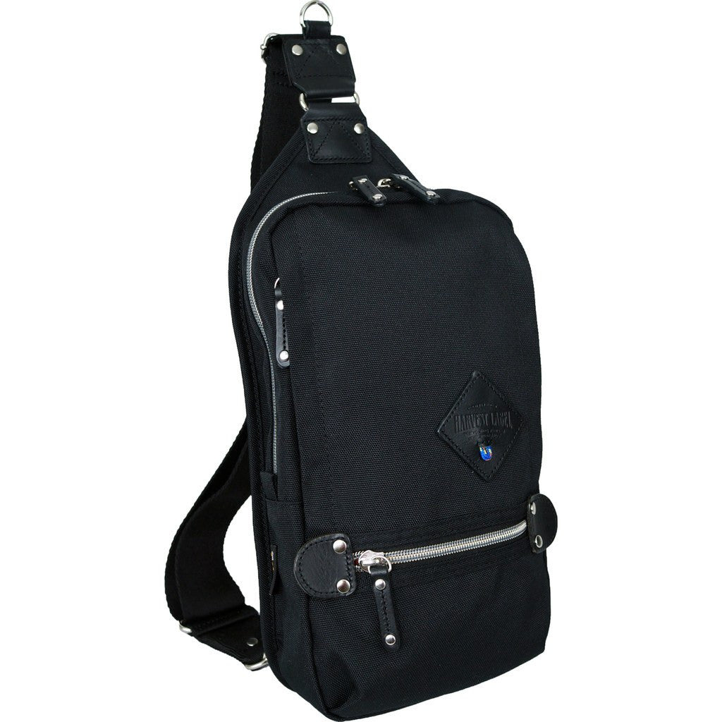 Harvest Label Sling Pack | Black HFC-9007-BLK