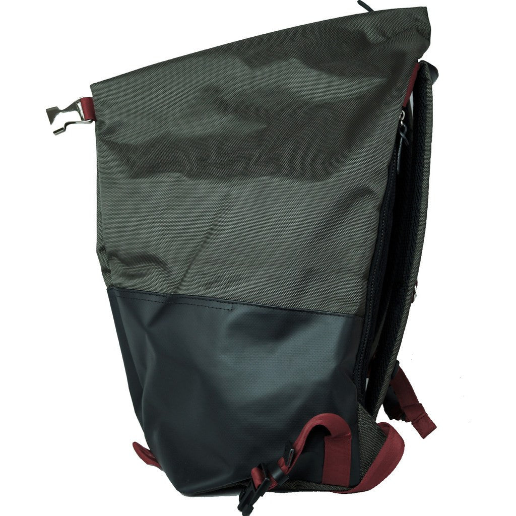 Harvest Label Ballistic Tourer Backpack | Moss HFC-9010-MOS