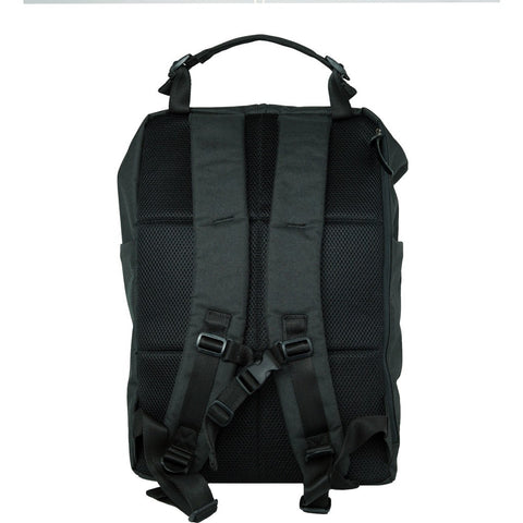 Harvest Label Ravenfold Backpack | Black HFC-9012-BLK