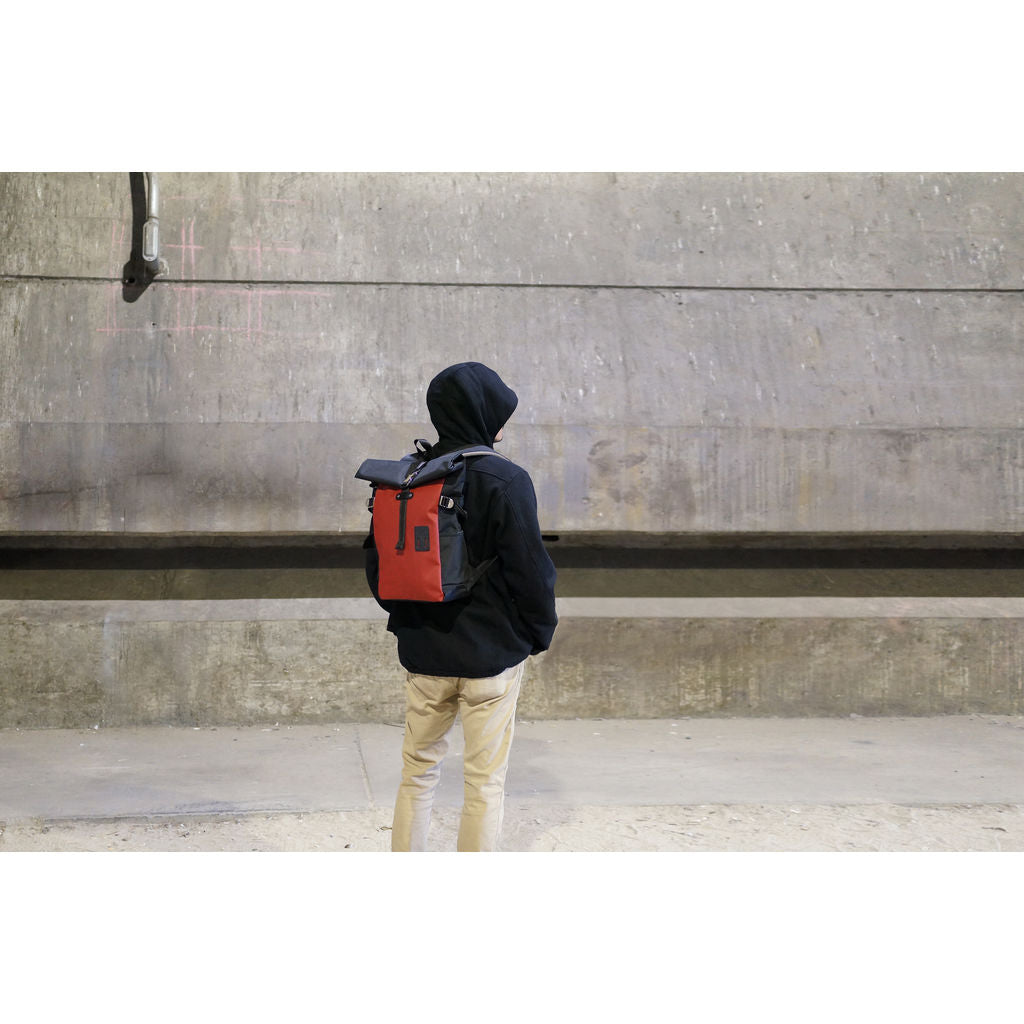 Harvest Label Rolltop Backpack Neo | Red HFC-9022-RD