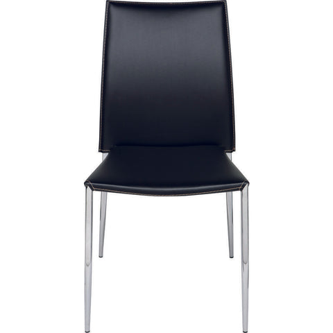 Nuevo Living Eisner Dining Chair | Black Leather