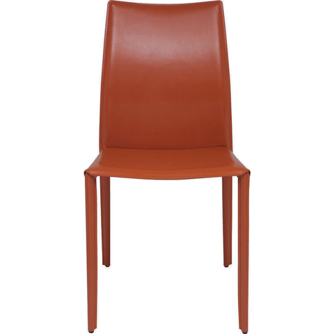 Nuevo Living Sienna Dining Chair | Ochre Leather