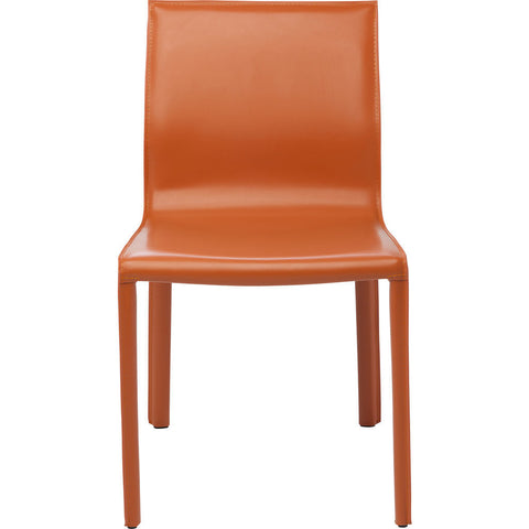 Nuevo Living Colter Dining Chair | Ochre Leather