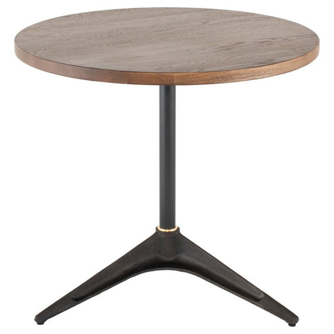 District Eight Compass Bistro Table - Smoked