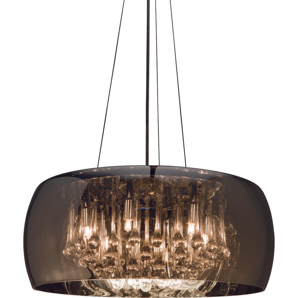 Nuevo Living Alain Lighting | Silver Glass