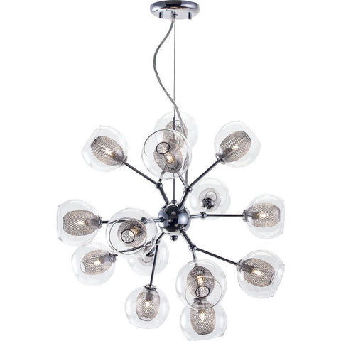Nuevo Living Estelle 14 Lighting | Clear Glass