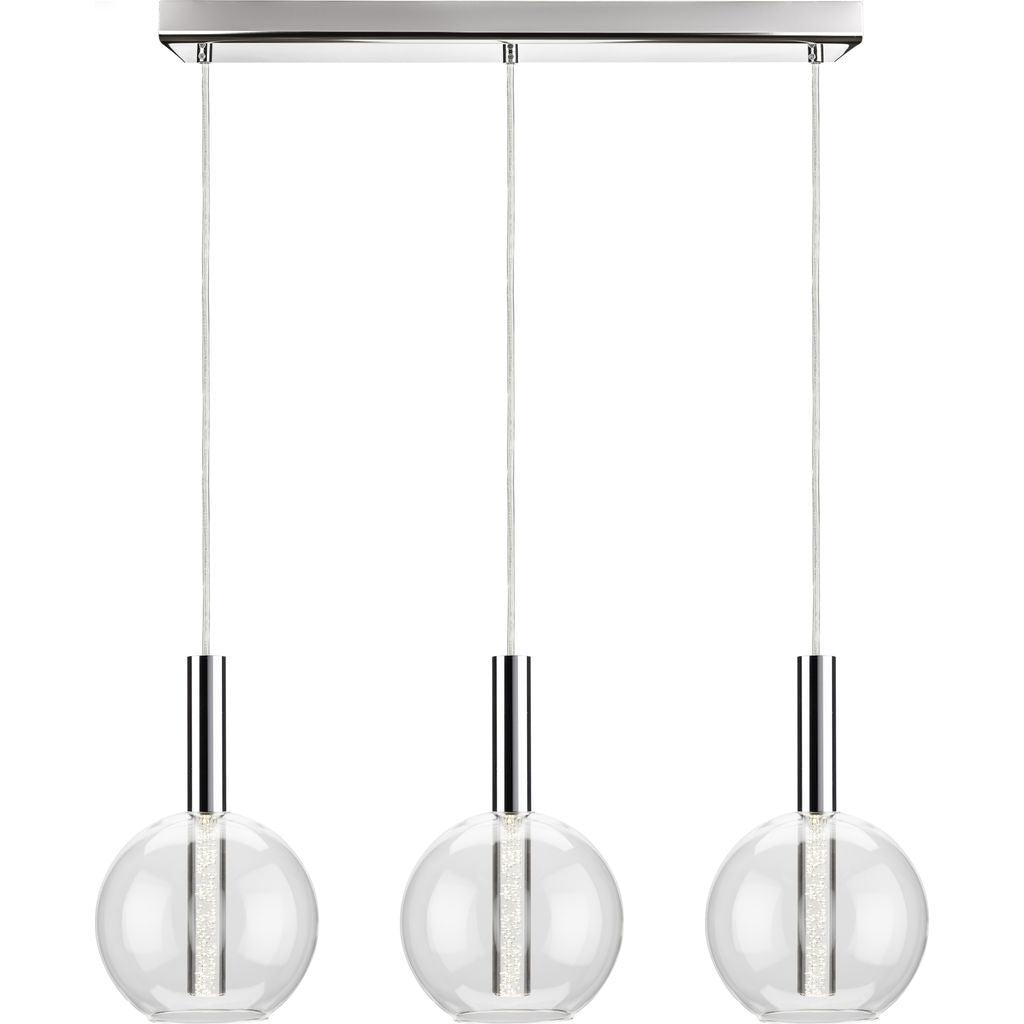 Nuevo Living Irene Lighting | 3 Clear Glass