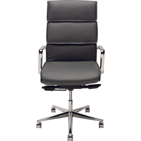 Nuevo Living Lucia Office Deluxe Office Chair | Grey