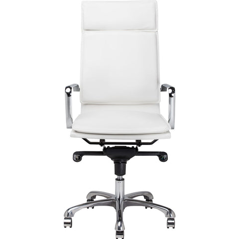 Nuevo Living Carlo Office Chair | White