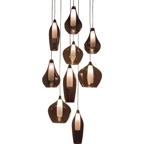 Nuevo Living Emma Lighting | Grey Glass