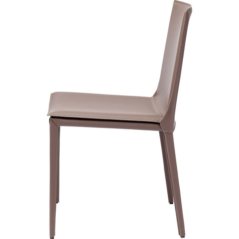 Nuevo Palma Dining Chair | Mink Leather