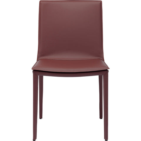 Nuevo Palma Dining Chair | Bordeaux Leather
