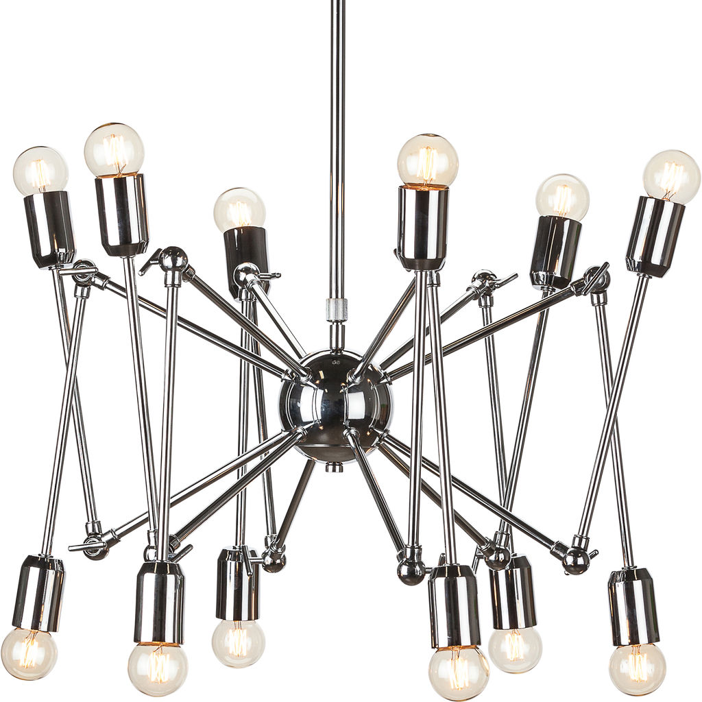 Nuevo Living Shai Lighting | Silver Steel Metal