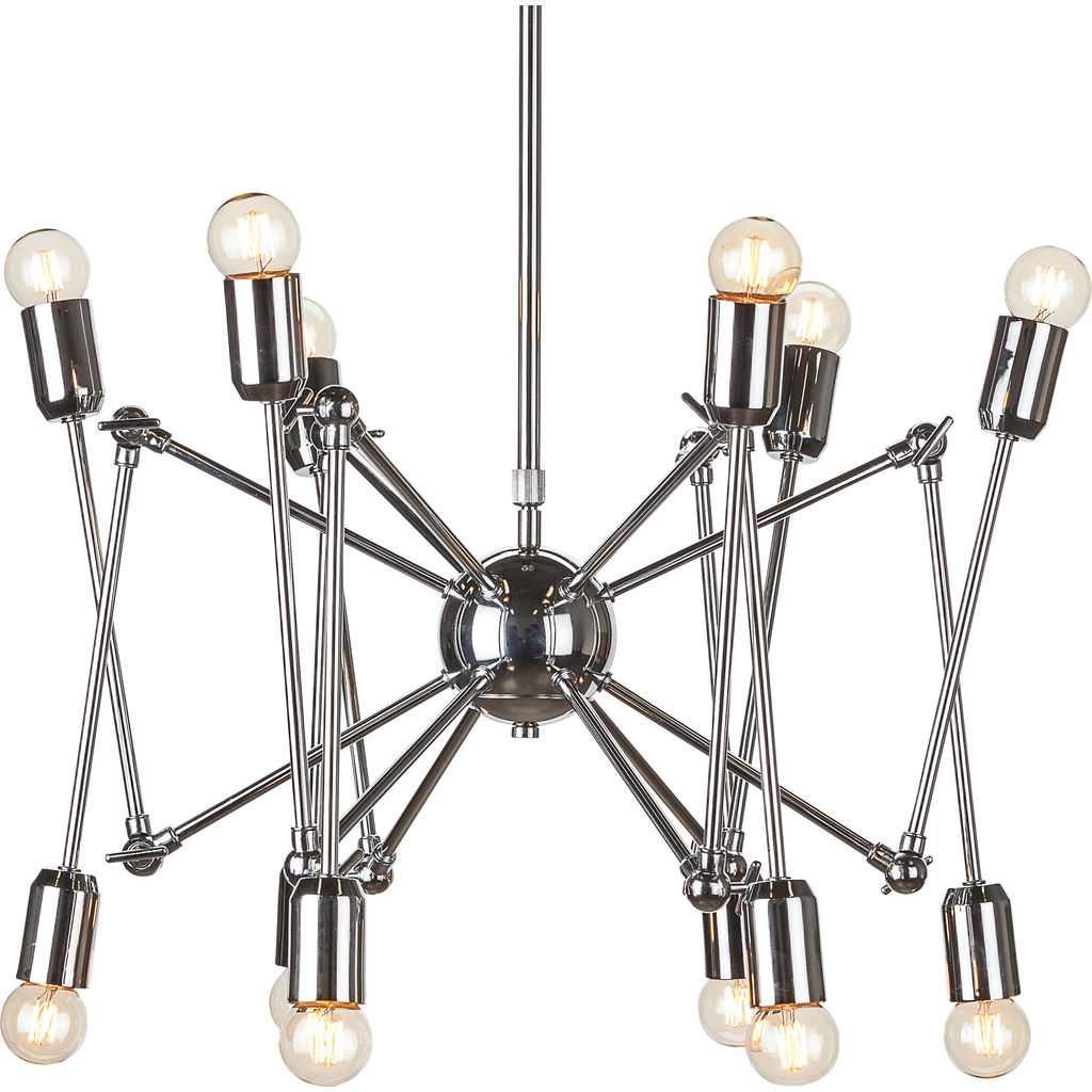 Nuevo Shai Lighting | Silver Steel Metal