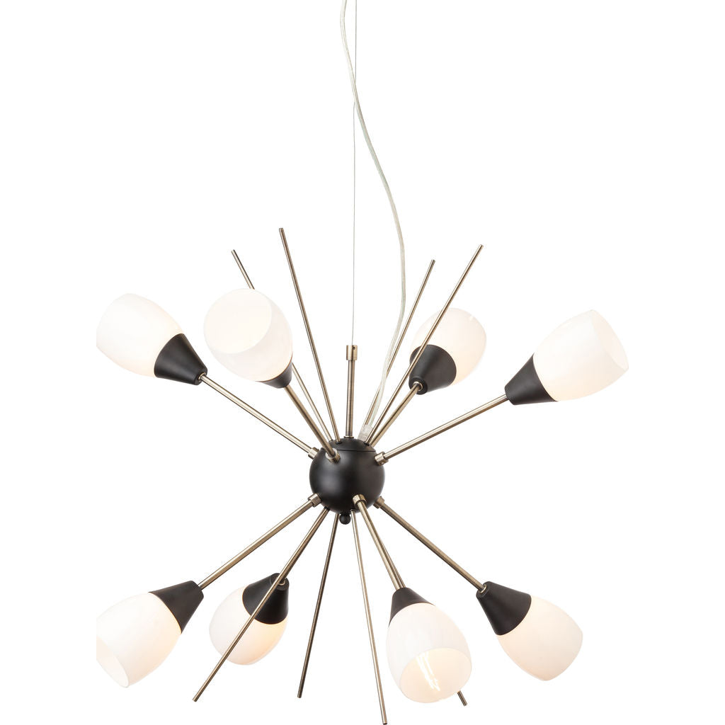 Nuevo Living Claire Lighting | White Glass