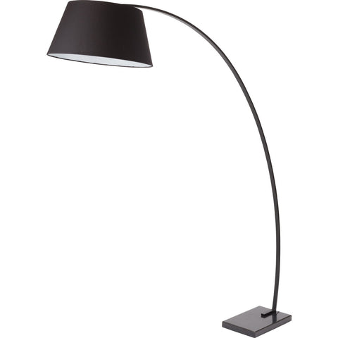 Nuevo Living Evan Lighting | Black Polycotton Fabric