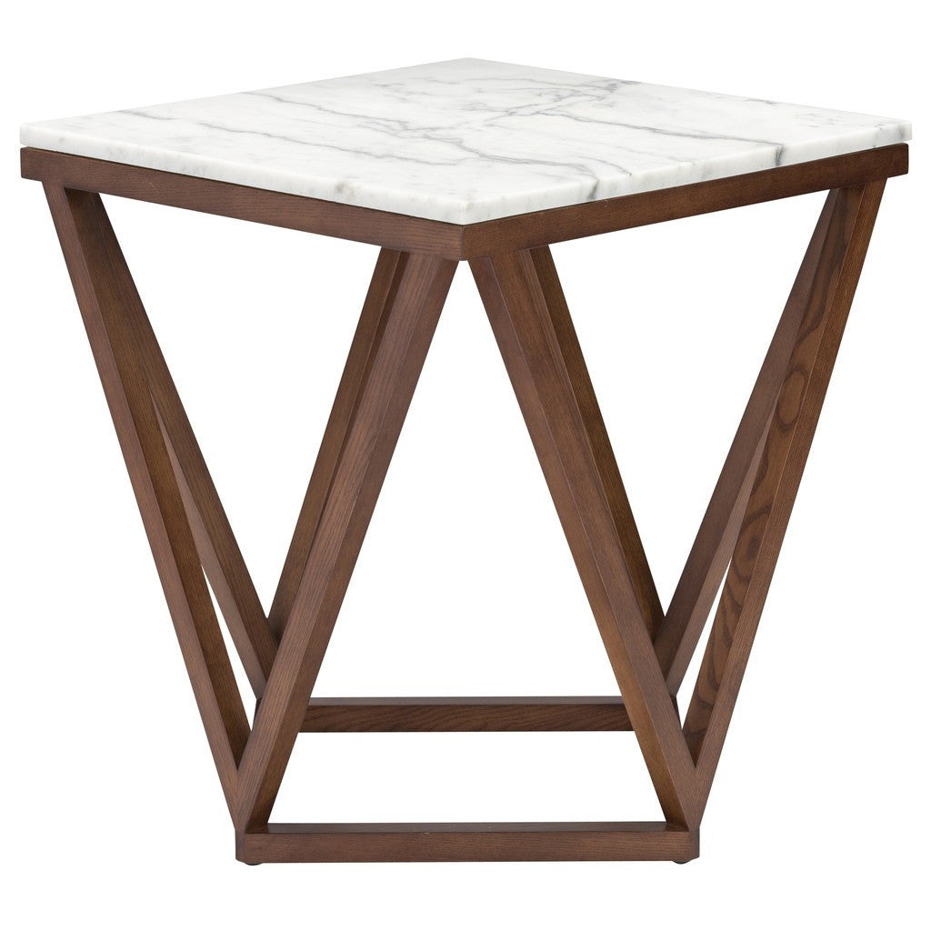 ... Nuevo Living Jasmine Side Table | White Marble HGYU163 ...