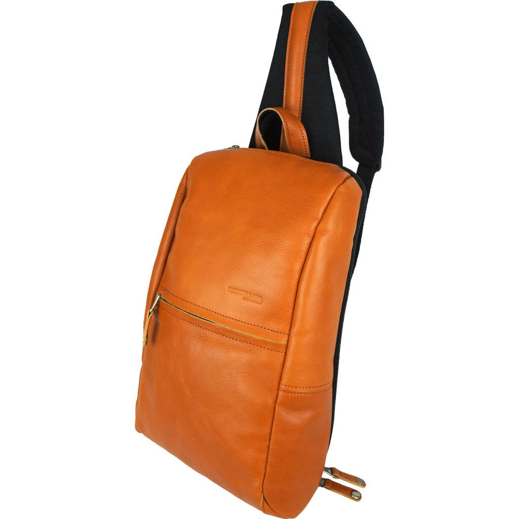 Harvest Label Leather Avenue Sling Pack | Caramel HHC-1525-CML