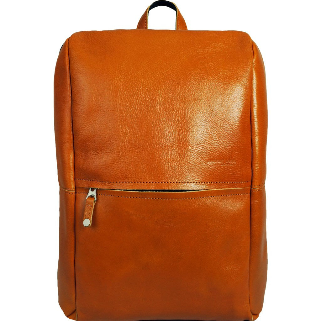 Harvest Label Leather Avenue Backpack | Caramel HHC-1526-CML