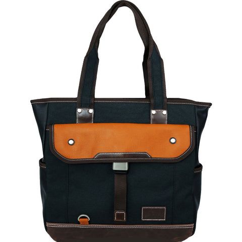 Harvest Label Parkland Tote Bag | Black HHC-4302-BLK