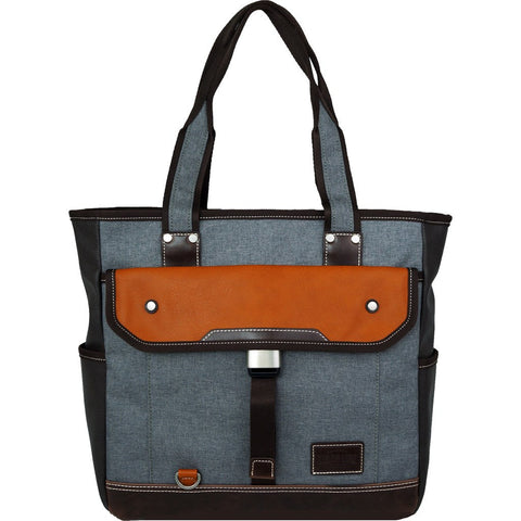 Harvest Label Parkland Tote Bag | Grey HHC-4302-GRY