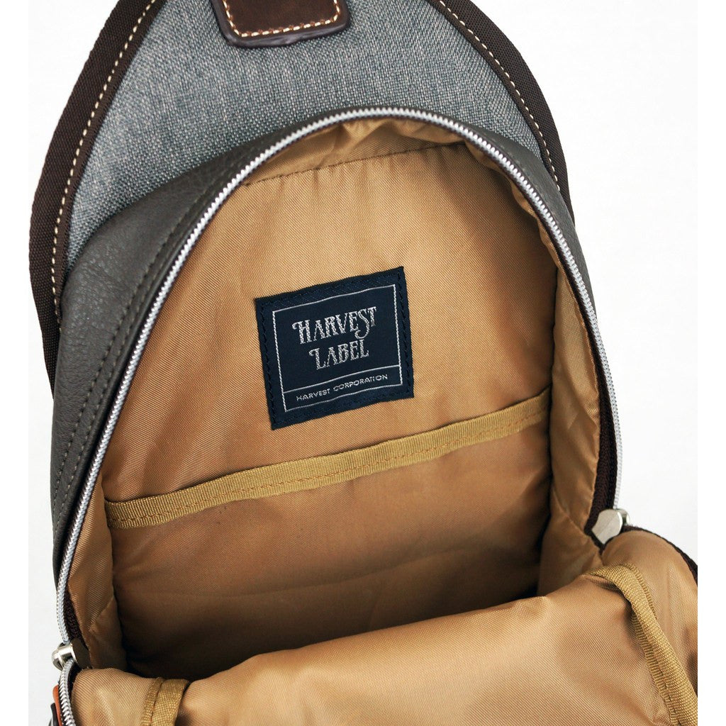 This is a photo of Breathtaking Harvest Label Cordura Sling Pack