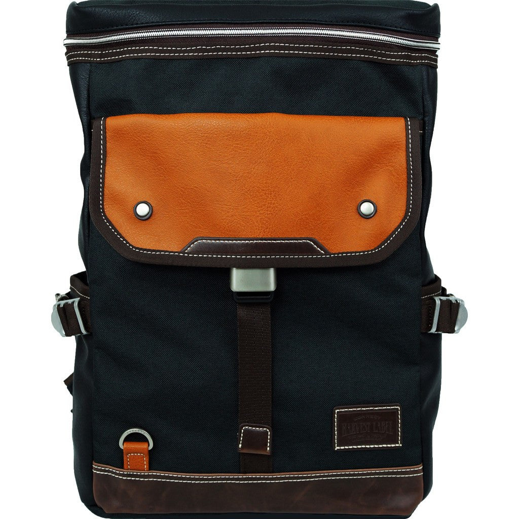 Harvest Label Parkland Backpack | Black HHC-4303-BLK