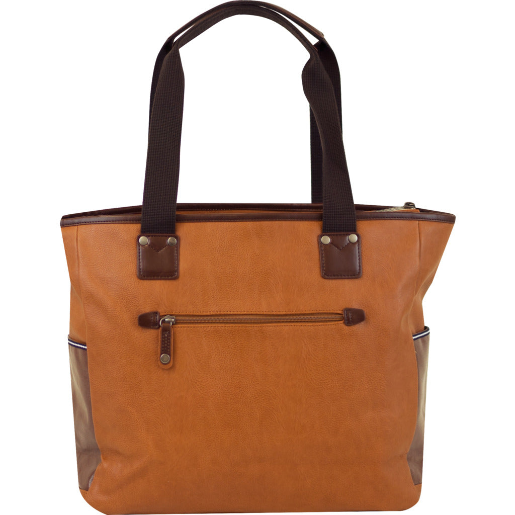 Harvest Label Portsman Tote | Brown hhc-4452-brn