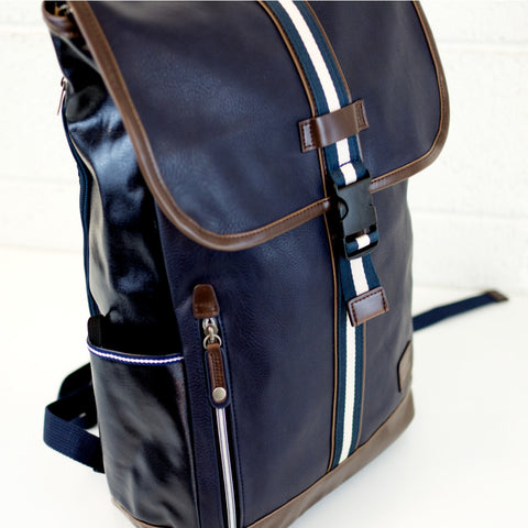Harvest Label Portsman Backpack | Navy hhc-4453-nvy