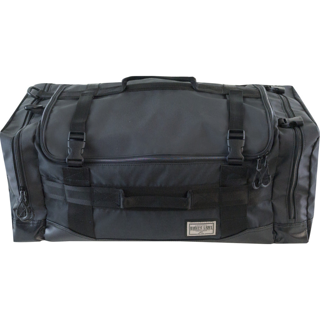 Harvest Label 3-Way Ultima Duffel Bag | Black
