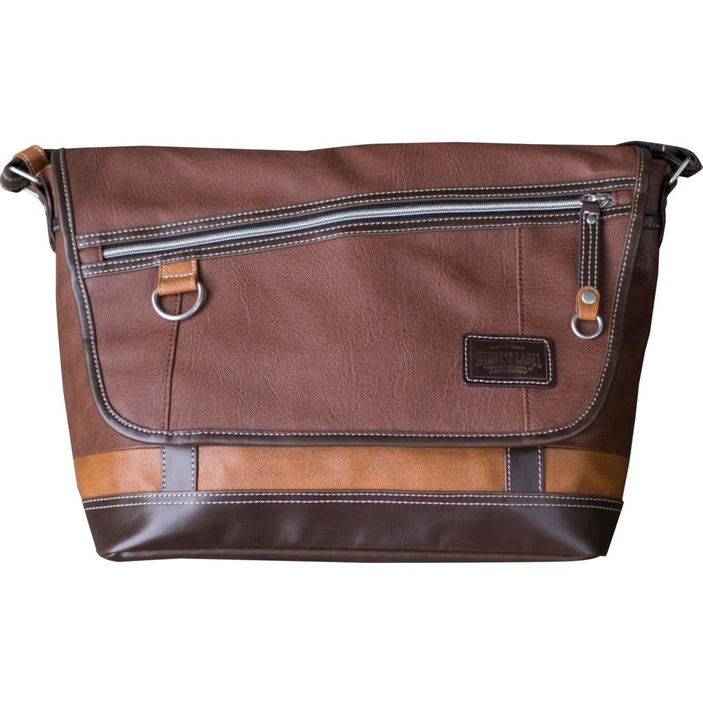 Harvest Label Vantage Messenger | Brown hhc-5534-brn