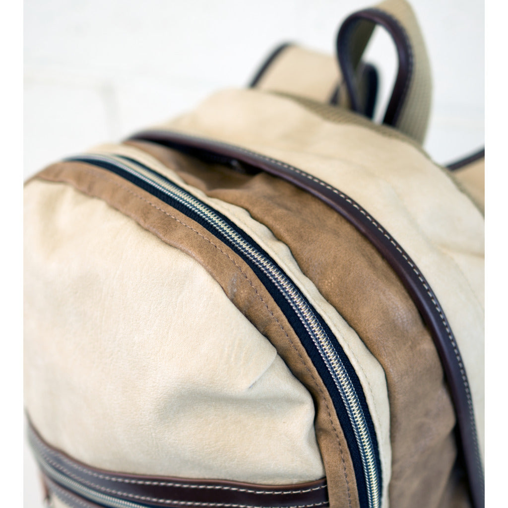 Harvest Label Vantage Backpack | Beige hhc-5533-beg