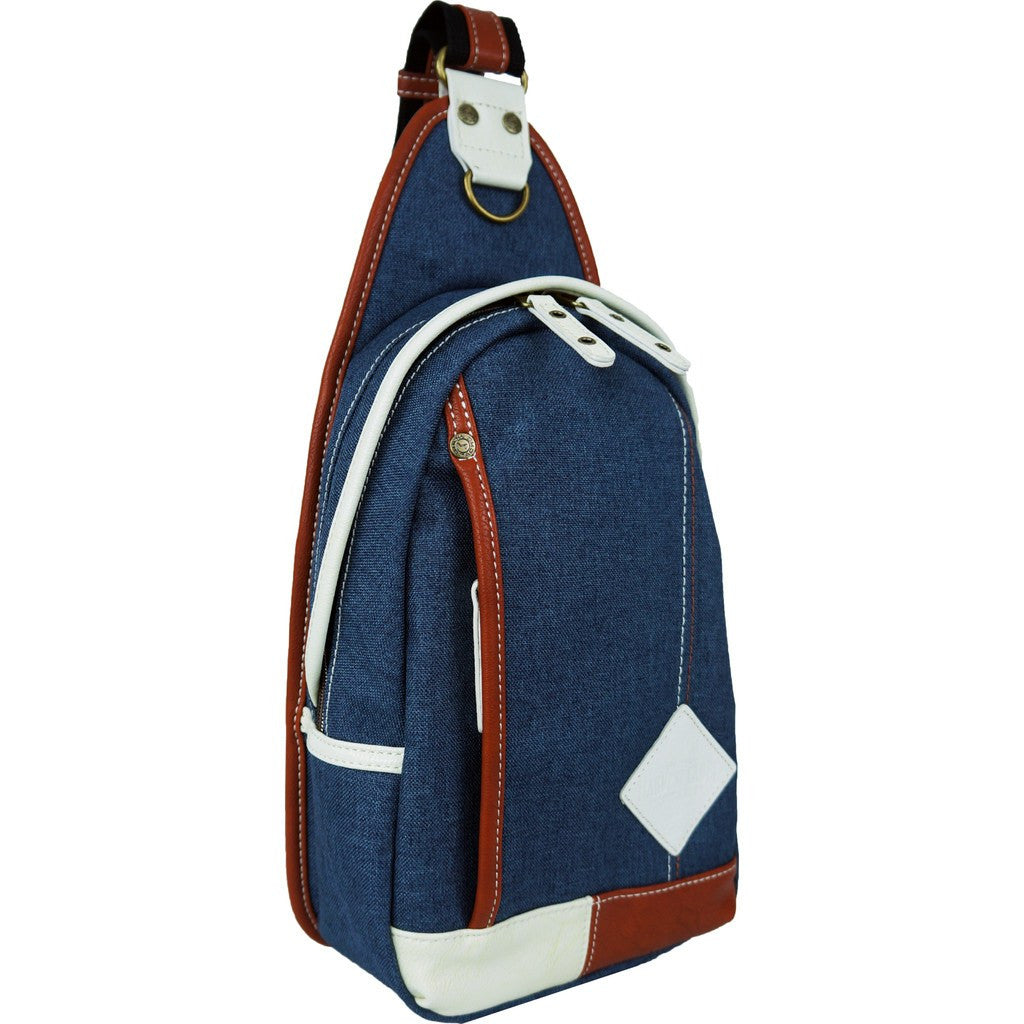 Harvest Label Palette Sling Pack | Navy HHC-5763-NVY