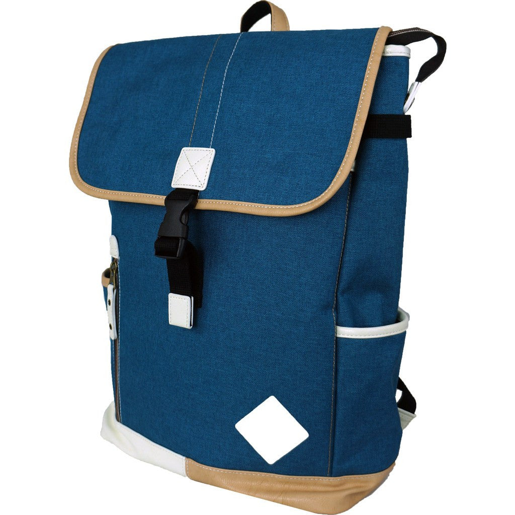 Harvest Label Palette Flaptop Backpack | Blue HHC-5769-BLU