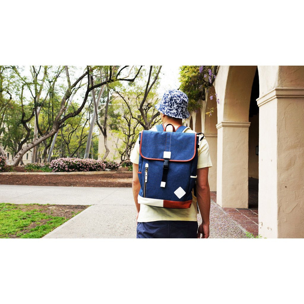 Harvest Label Palette Flaptop Backpack | Navy HHC-5769-NVY